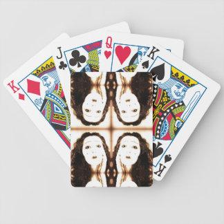 Vintage Vamp Bicycle Playing Cards