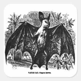 Vintage Vampire Bat Sticker