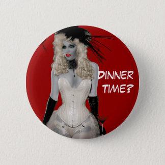 Vintage Vampire Button