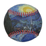 Vintage Van Gogh Starry Night Baseball