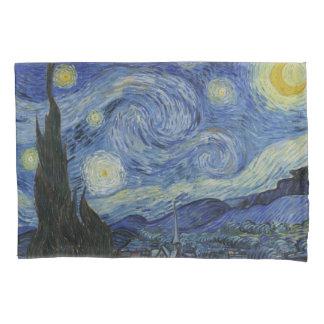 Vintage Van Gogh Starry Night Pillow Case