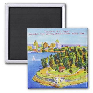 Vintage Vancouver Island Magnet