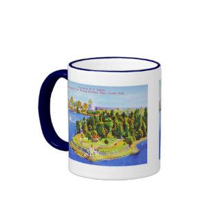 Vintage Vancouver Island Mug