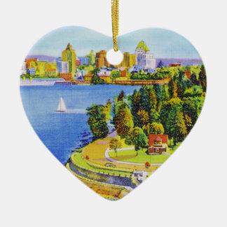 Vintage Vancouver Island Ornament