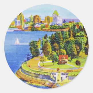 Vintage Vancouver Island Stickers