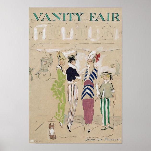 Vintage Vanity Fair Poster Zazzle Com