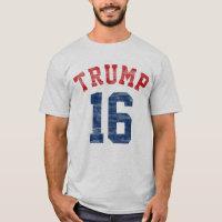 Vintage Varsity Donald Trump for President T-Shirt