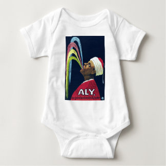 Vintage Vaudeville Aly, the Mysterious Egyptian Baby Bodysuit