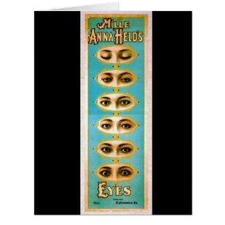 Vintage Vaudeville Poster 1898 Card