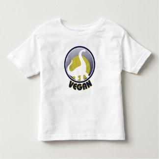 Vintage Vegan Dinosaur Toddler T-shirt