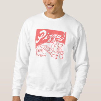 Vintage Vegan Pizza Sweatshirt