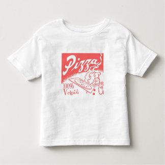 Vintage Vegan Pizza Toddler T-Shirt