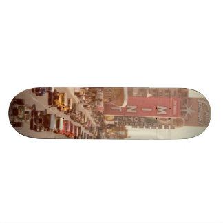 vintage vegas hot rod deck skate board deck