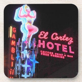 Vintage Vegas Hotel Coaster