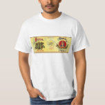 Vintage Vegetable Can Label Art, Iona Brand Peas T-Shirt
