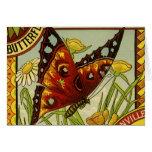 Vintage Vegetable Label Art, Butterfly Brand Beans