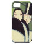 Vintage Vegetable Label, Art Deco Couple, Topper iPhone 5 Covers