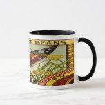 Vintage Vegetable Label - Beans Mug