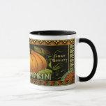 Vintage Vegetable Label Mug