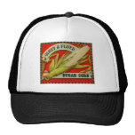 Vintage Vegetable Label, Olney & Floyd Sugar Corn Trucker Hat