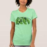 Vintage Vegetables; Lima Beans, Organic Farm Foods T Shirt