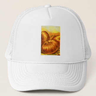 Vintage Vegetables Yellow Heirloom French Onions Trucker Hat
