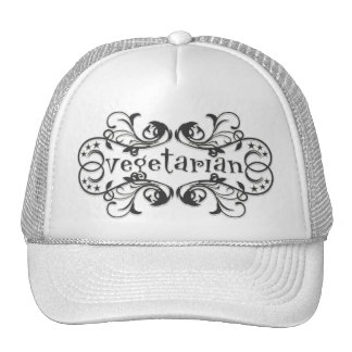 Vintage Vegetarian Hat
