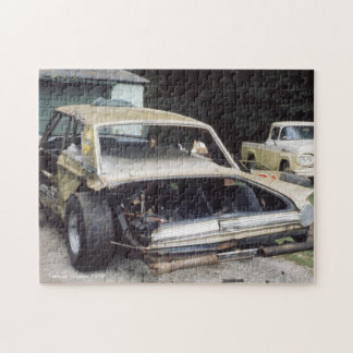 Old Fashioned Cars Jigsaw Puzzle