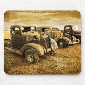 Vintage Vehicles Mouse Pad