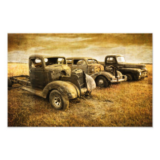 Vintage Vehicles Photo Print