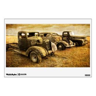 Vintage Vehicles Wall Sticker