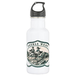 Vintage Velocipede Bicycle Ad Water Bottle