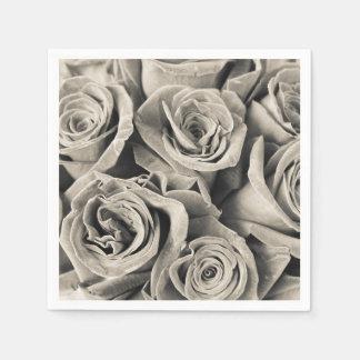 Vintage Velvet Beauty Paper Napkin