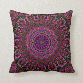 Vintage Velvet-look Pink Pillow in 2 Sizes