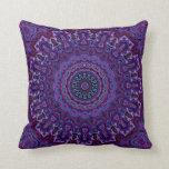 Vintage Velvet-look Purple Pillow in 2 Sizes