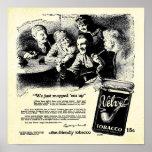 Vintage Velvet Tobacco Print - Tobacco print Ads