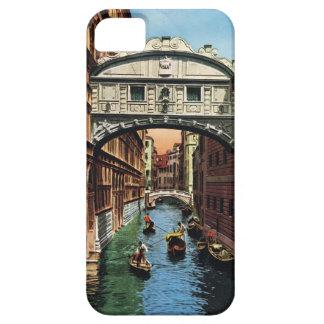 Vintage Venecia el puente de suspiros iPhone 5 Cárcasas