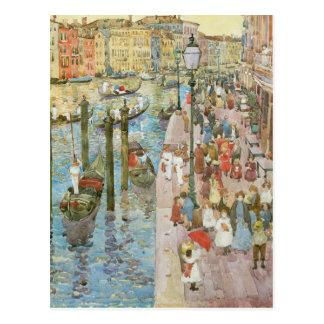 Vintage Venecia Italia Tarjeta Postal