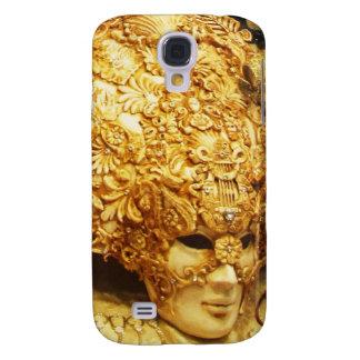 Vintage Venetian Gold Mask Venice Italy photo Samsung Galaxy S4 Case