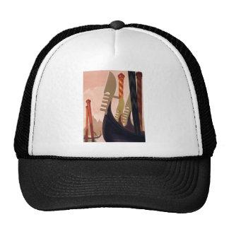 Vintage Venezia Gondolas Trucker Hat