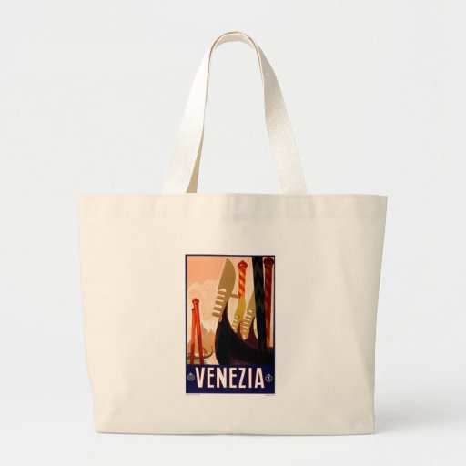Vintage Venezia Jumbo Tote Bag