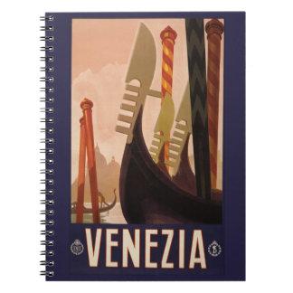 Vintage Venezia Venice Italy notebook