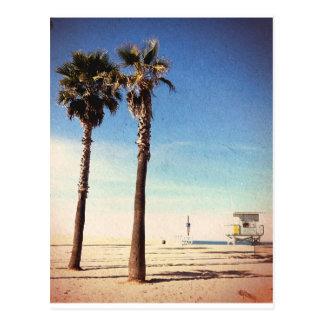 Vintage Venice Beach Postcard