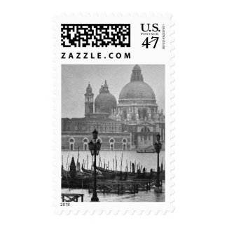 Vintage Venice Grand Canal Travel Postage