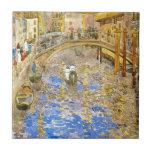 Vintage Venice Italy Canal Scene - by Prendergast Ceramic Tiles