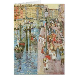 Vintage Venice, Italy Card