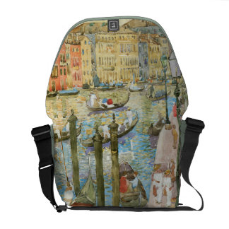 Vintage Venice Italy Grand Canal Messenger Bag