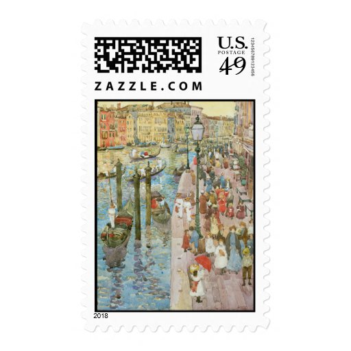 Vintage Venice, Italy Stamps