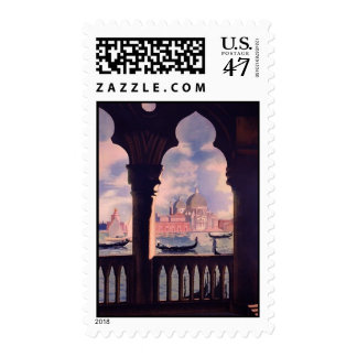 Vintage Venice Italy Travel Postage