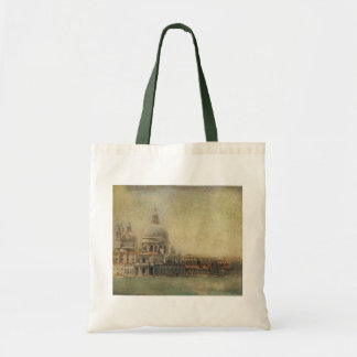 Vintage Venice, Madonna della Salute Church Tote Bag
